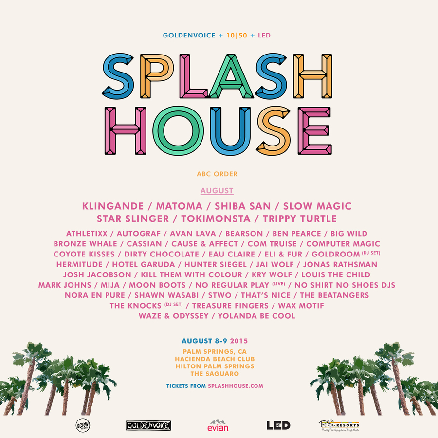 Splash House August 2015