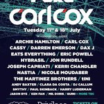Carl Cox al Privilege Ibiza, ecco la line up
