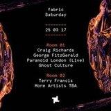 25.3 fabric: George FitzGerald, Paranoid London & Premiesku
