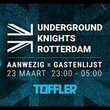 Underground Knights Rotterdam at Toffler Aanwezig = Gastenlijst