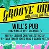 The Groove Orient Double Decker May 5th + 6th w/ Leisure Chief, Evan Taylor Jones Band, Electric Kif & The Daniel Heitz Band at Will's Pub