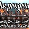 The Program family feast thanksgiving night at f8