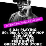 Straight Outta Brighton/1st Birthday Karaoke Special/Free Entry
