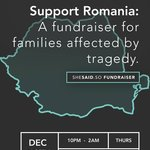 Romanian Fundraiser for the Families of the Recent Bucharest Nightclub Fire